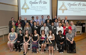 RIT/NTID inducts students into new Epsilon Pi Tau national honor society