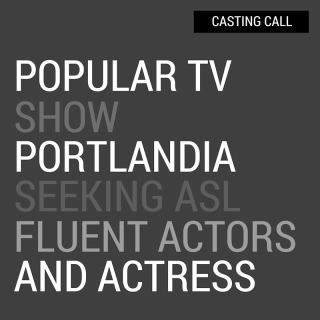 casting call for portlandia show