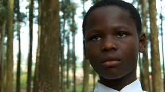 Kavuo Mbusa Mangheve Jemima, 13 years old. She is in her 6th year as a student at the Butembo School for the Deaf. Sometimes she can be a bit grumpy but her smile is really infectious.