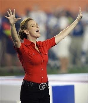 Marlee Matlin Super Bowl XXVII 1993