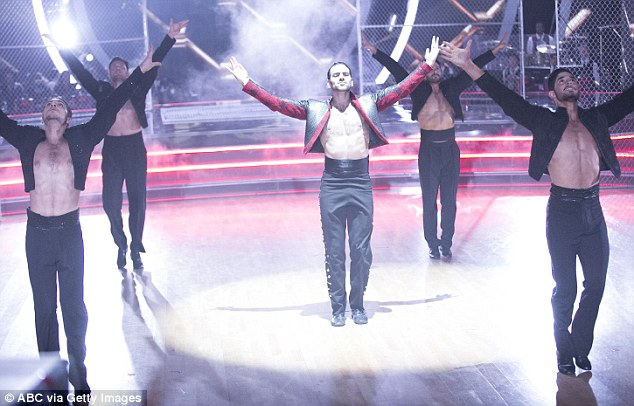 Spotlight: Nyle, pictured on the show, said he has known his 'deaf identity' since birth