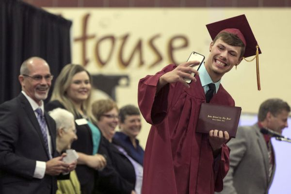 Oh, the places you'll go! ISD grads celebrate