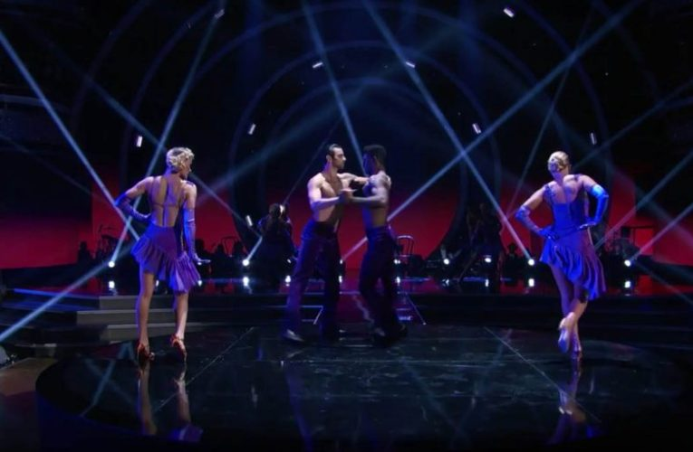 Nyle DiMarco makes history with Dancing With The Stars' first ever same-sex dance