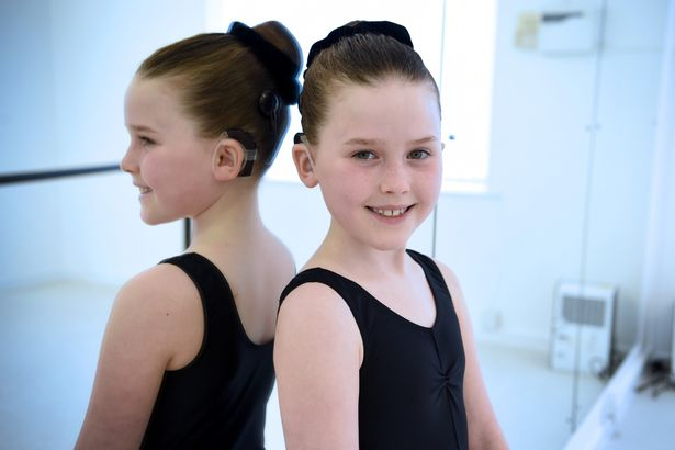 Watch eight-year-old born in world of silence making a hit in dance