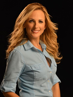 """Oscar-winning actress Marlee Matlin said the best thing to do for people """"who have special needs is to communicate with them."""""""