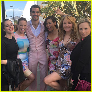 Vanessa Marano & Katie Leclerc Support Nyle DiMarco at 'Dancing With The Stars'