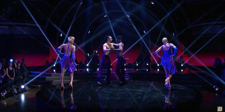 Watch: Nyle DiMarco Performs First Same-Sex Routine on 'Dancing With the Stars'