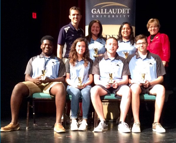 Starr's Mill team fourth in U.S. academic bowl for deaf photo