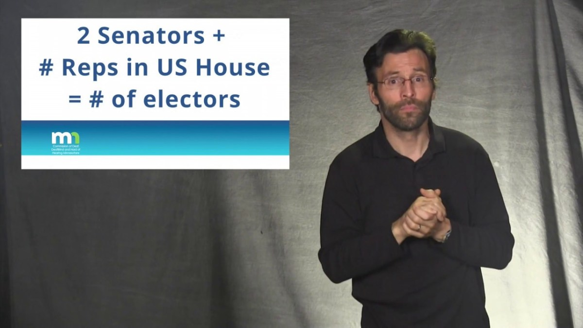 The Electoral College Explained (ASL & English)
