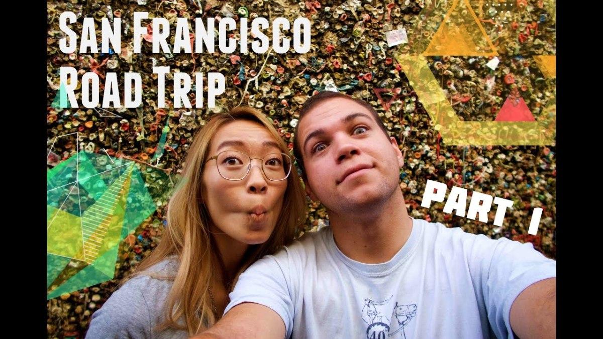 San Francisco Road Trip Vlog part 1