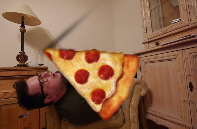 Pizza Sleeper | Deaf vlog disability subtitles cc accessibility