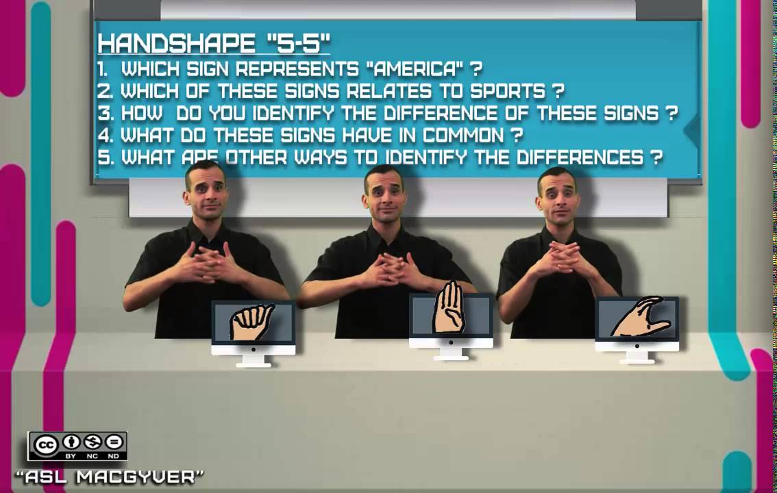 5 Questions about 55 Handshapes by ASL MacGyver
