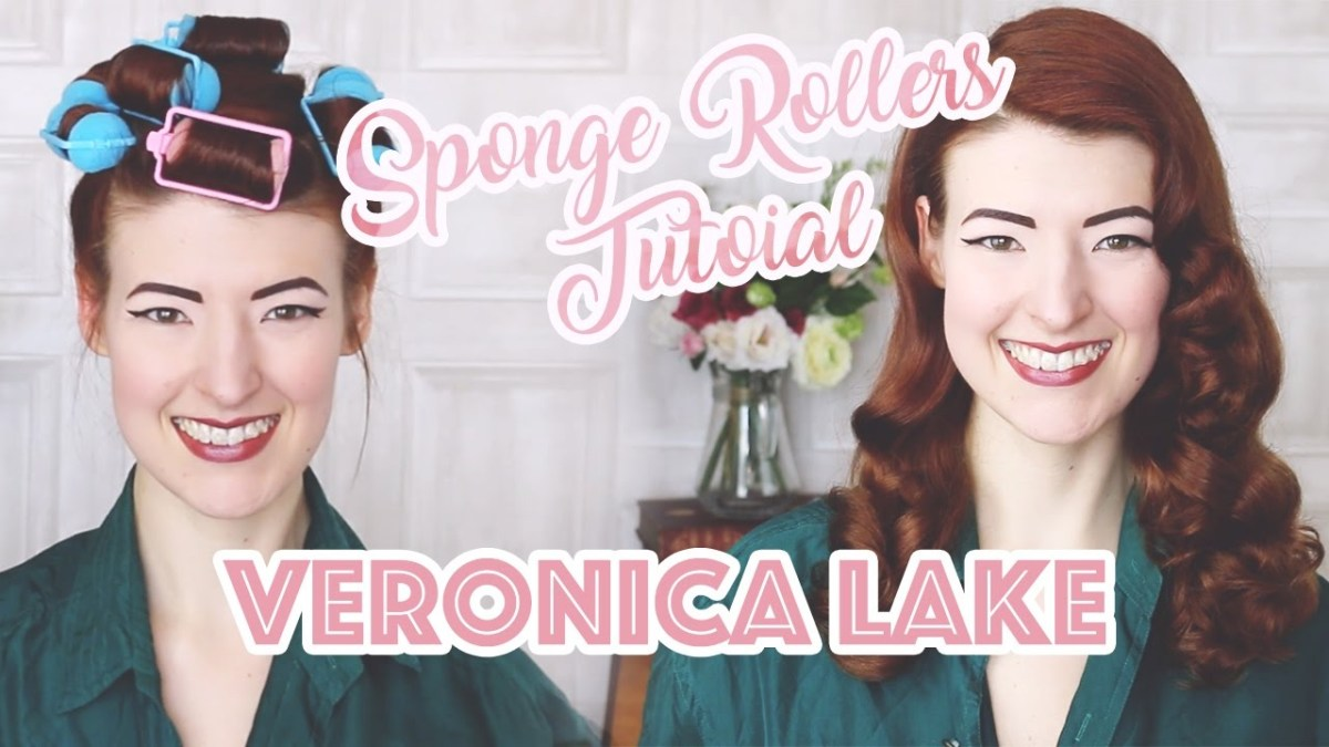 Glossy Veronica Lake Waves // How To Curl Your Hair