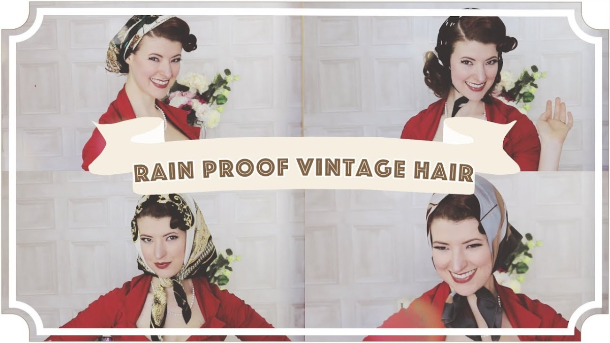 Rain Proofing Vintage Hair [CC]