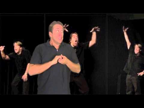 """he is watching you"" – Keith Wann ASL Comedy"