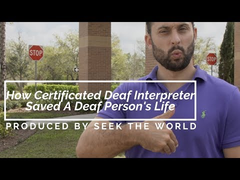 The Story of How CDI Saved A Deaf Person's Life at The Hospital!