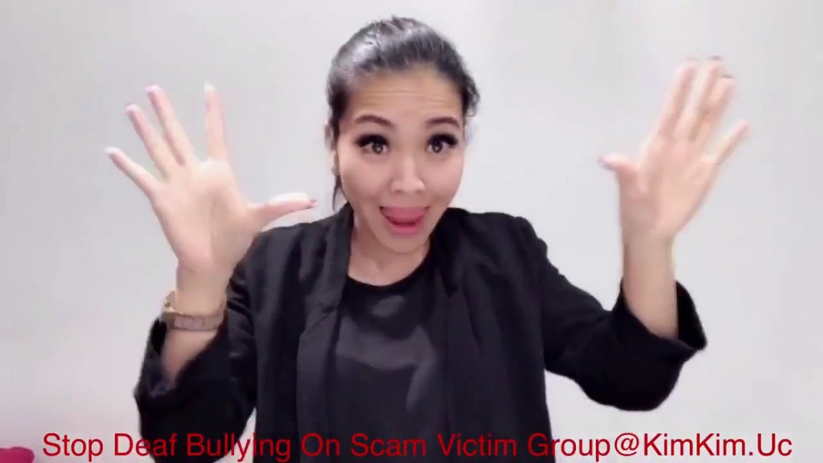 Deaf official - Van Anh Nguyen - Stop deaf builying on scam victim group @kimkim uc