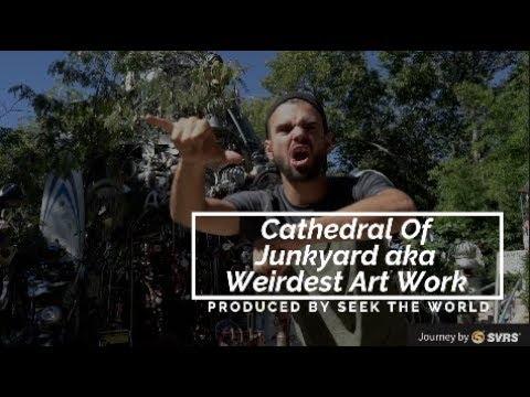 Cathedral Of Junkyard aka Weirdest Art Work – Austin, Texas