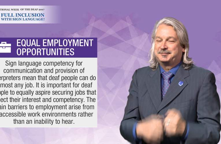 IWD 2017 Campaign Key Message – Equal Employment Opportunities