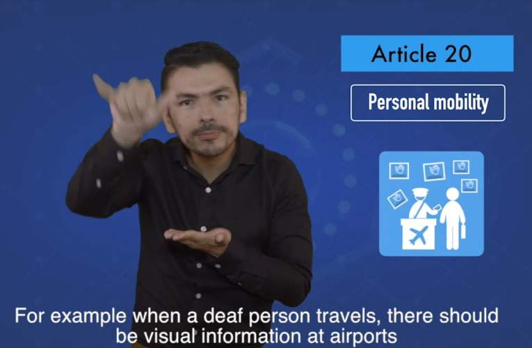 2. articles 20 Personal mobility