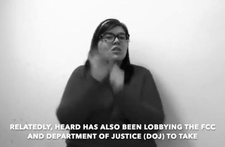 Deaf Prisoner Phone Justice Campaign Updates