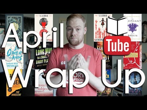 April Books Wrap Up/May TBR | BookTube