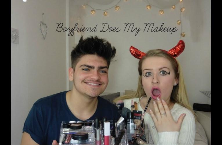 Boyfriend Does My Makeup   Jazzy