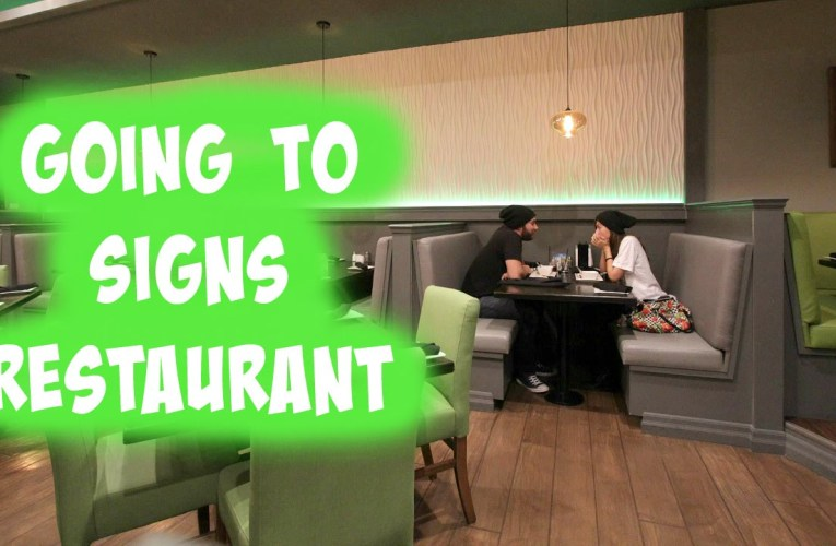 Traveling Vlog| Going to SIGNS Restaurant in Toronto!