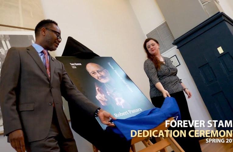 Robert Panara Forever Stamp Dedication Ceremony