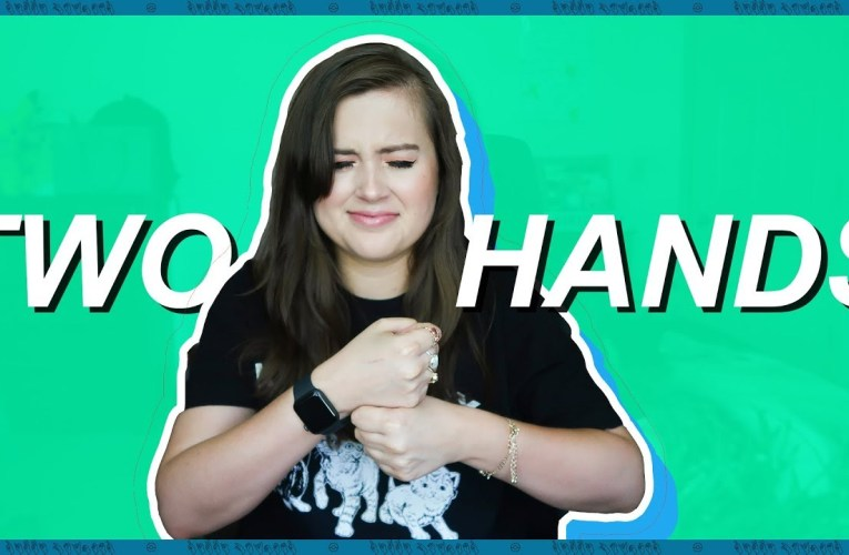 Learning British Sign Language For The First Time (American Sign Language) | Rikki Poynter