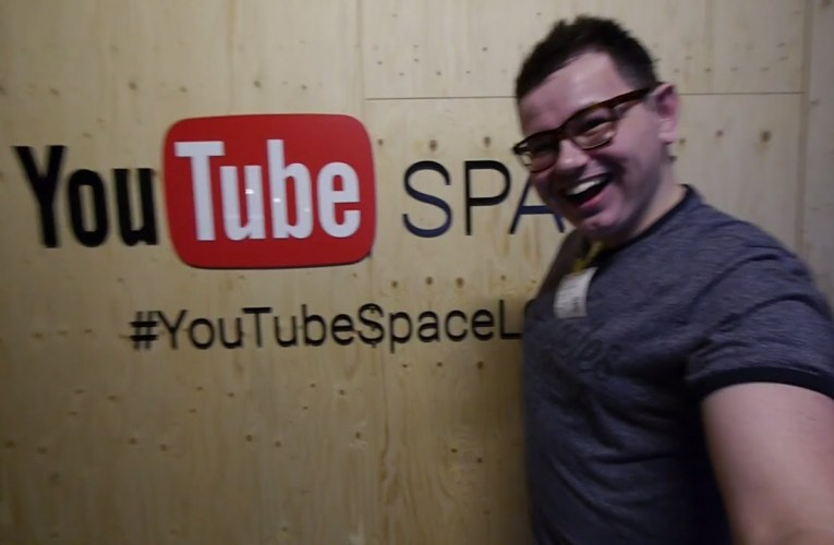 YouTube Space London Creator Day | Deaf vlog disability subtitles cc accessibility