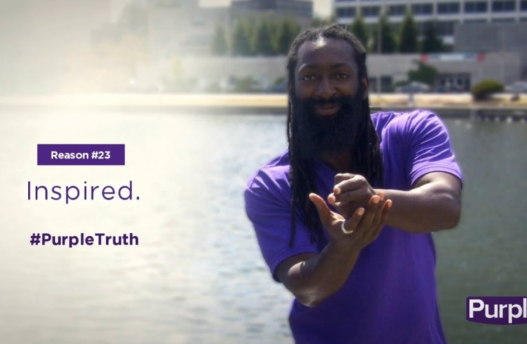 #PurpleTruth: Inspired