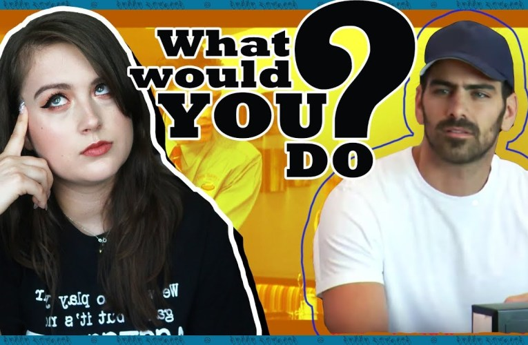 Deaf Person Reacts To Deaf WHAT WOULD YOU DO? (ft. Nyle DiMarco) | Rikki Poynter