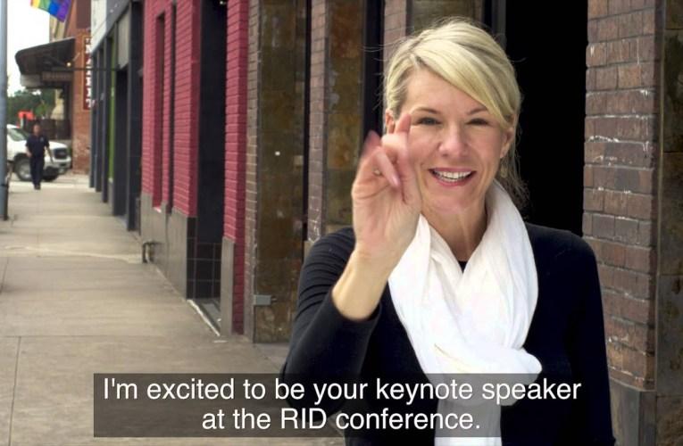 2015 RID National Conference Keynote Speaker: Brandi Rarus