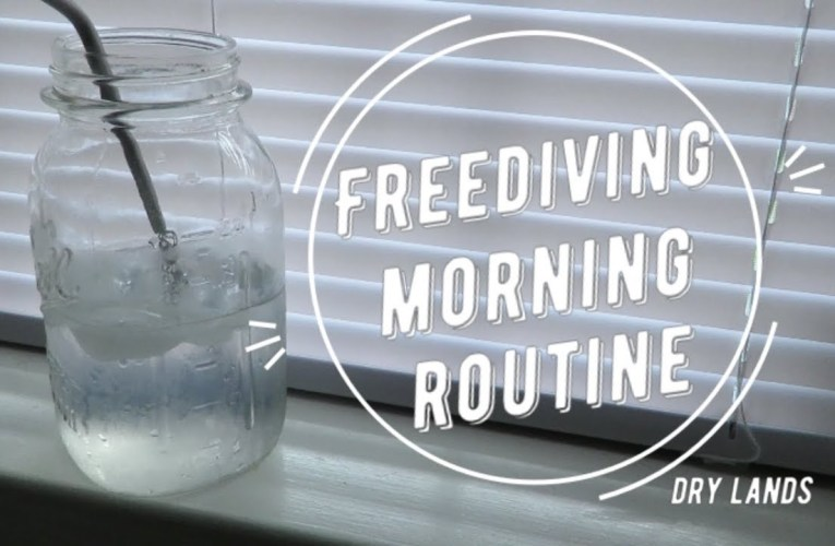 my freediving morning routine