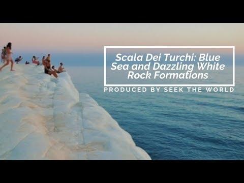 Scala Dei Turchi: Blue Sea and Dazzling White Rock Formations