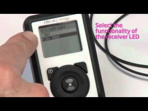 Oticon Amigo – Enabling the LED on the Receiver