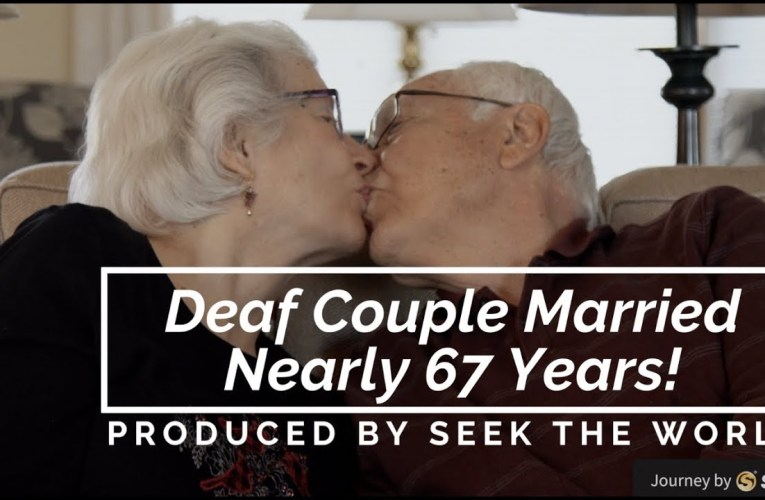 Heart Touching Story – Deaf Couple Married Nearly 67 Years!