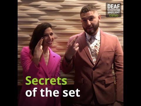 Deaf Ecosystem Spotlight – Josh Feldman & Shoshannah Stern of This Close – Convo