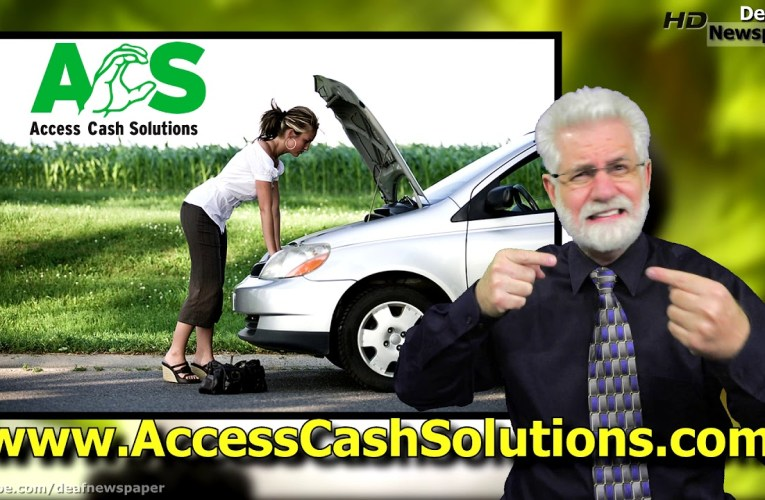 Need Cash Now  www.AccessCashSolutions.com