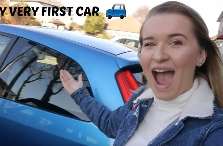 I PICKED UP MY VERY FIRST CAR – DEAF DRIVER | Jazzy Vlogs
