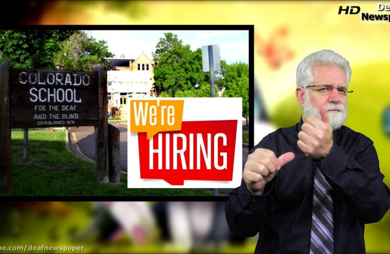Colorado Deaf School is ready hiring.