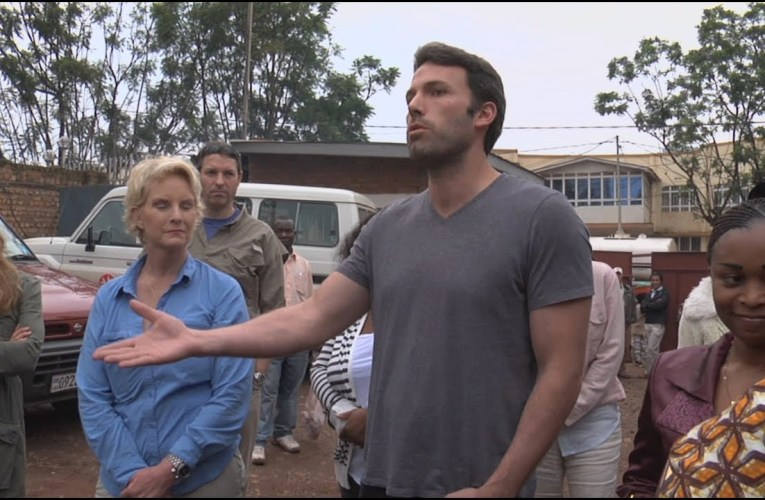 Ben Affleck and the Eastern Congo Initiative team with Starkey Hearing Foundation