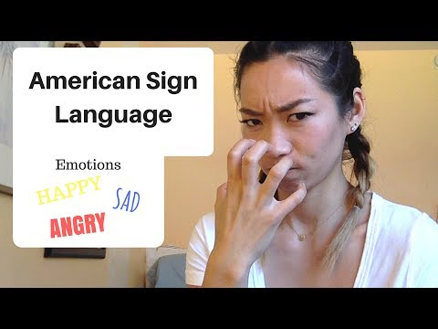 ASL HANGOUT: HOW TO SIGN EMOTIONS!