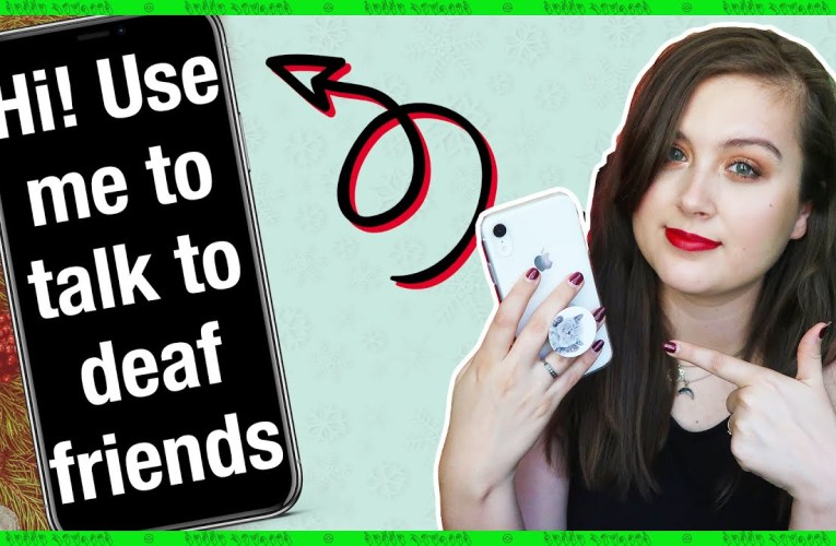 Phone Apps You Need To Talk To Deaf People! | Rikki Poynter