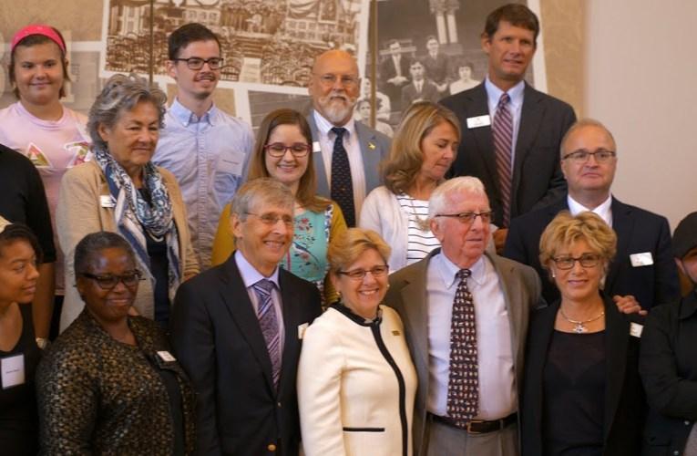 Johnson Scholarship Foundation Visit