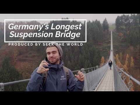 Geierlay, Germany's Longest Suspension Bridge