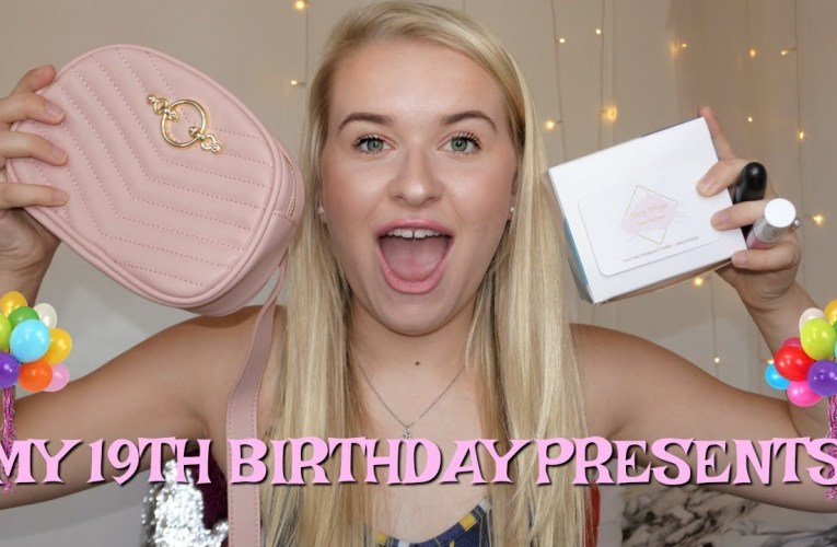 What I Got For My 19th Birthday | Jazzy