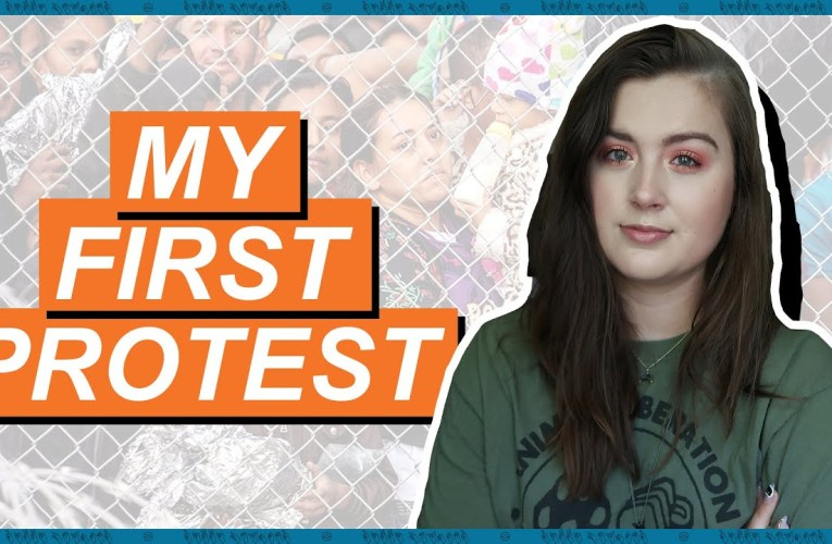 I'm Against Detention Camps, So I Protested (Was It Safe & Accessible?) | Rikki Poynter