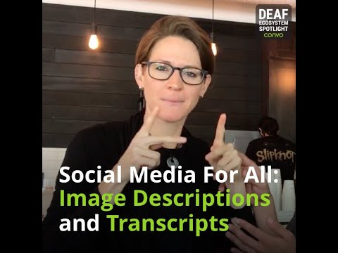Deaf Ecosystem Spotlight – Protactile Connects – Convo